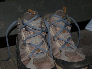 New and improved boots with laces