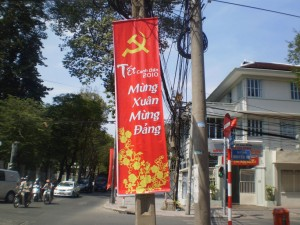 Not many chance to forget about communism, expect for all the capitalism around