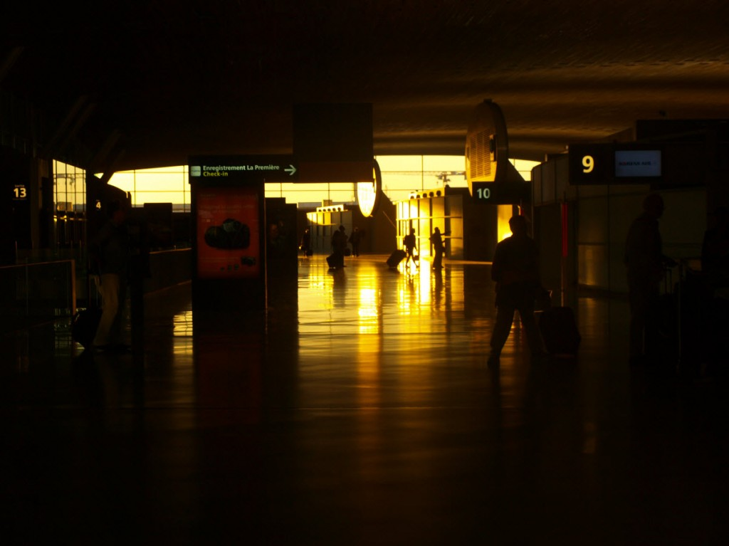 very long overnight layover @ Charles de Gaulle airport, Paris, France
